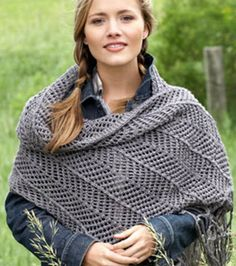 Follow the simple #knitting steps to make this gorgeous wrap! #CreativityMadeSimple #cre8simple