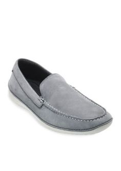 Cole Haan Gray Motogrand Venetian Slip On Loafer
