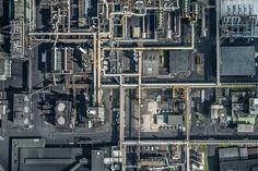AERIAL VIEWS Industry by Bernhard Lang | JOQUZ