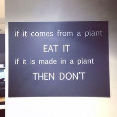 """Always eat more plants! At @naturallyorganic hair salon in #carindale #brisbane #organichairsalon""  https://www.pinterest.com/natorghair/"