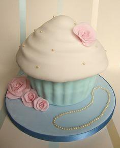 Vintage Giant Cupcake