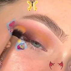 Eye Shadow Makeup Look Tutorial ( Stylio Cosmetics is a cosmetics brand. Free Worldwide Delivery ) By: @clx.makeup<br> Natural Eyeshadow, Natural Eye Makeup, Makeup For Brown Eyes, Eyeshadow Makeup, Smoky Eye Makeup Tutorial, Makeup Looks Tutorial, Makeup Tutorial For Beginners, Beautiful Eye Makeup, Simple Eye Makeup