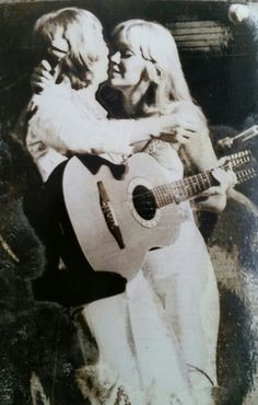 ABBA Agnetha and Bjorn Australia 1977