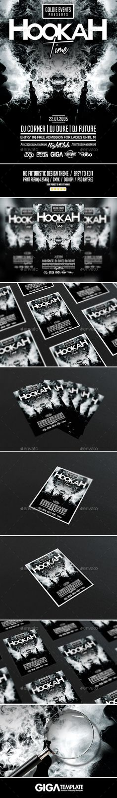 Suit and Tie Party Flyer v2 Party flyer, Flyer template and Psd - black and white flyer template