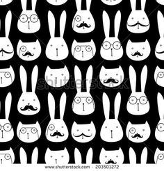 Cute Rabbit Ilustrações e desenhos Stock | Shutterstock
