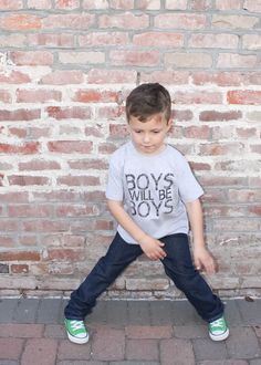 Boys Will Be Boys Tee- Various Colors – enjoyessential
