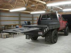 lets see your snowmobile flat bed setups! - Page 2 - Back Country Rebels - Forums Custom Flatbed, Custom Truck Beds, Custom Trucks, Welding Trucks, Welding Rigs, Truck Flatbeds, Truck Mods, Shop Truck, Truck Parts