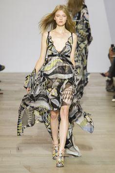 Antonio Berardi The Prettiest Dresses from London Fashion Week  - ELLE.com