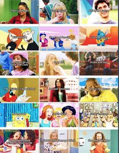 my childhood tv shows. I watched every single one of them. Mostly disney shows. Childhood Ruined, Childhood Tv Shows, Childhood Memories, Phil Of The Future, Old Disney Channel, The Proud Family, Zack E Cody, Drake And Josh, Dibujo