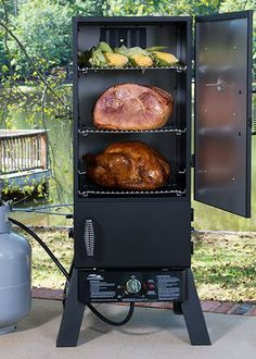 """Start a new tradition this holiday season when you cook your holiday dinner in a smoker. Smoked turkeys and other foods come out juicy, tender and delicious. Click through for the recipe for """"Dadgum Good"""" Smoked Turkey."""