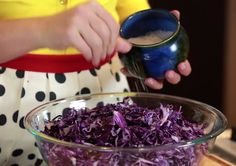 Sauerkraut | Camille's Paleo Kitchen