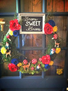 tales from a cottage: Gnome Sweet Gnome Wreath Diy Wreath, Wreaths, Wreath Making, Wreath Ideas, Woodland Christmas, Christmas Diy, Hedgehog Craft, Weekend Crafts, Gnome Garden