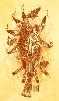 Indian Summer by CanisAlbus. Illustrations.
