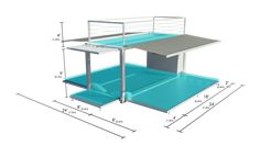 Pop Up Container For Events | 20' Hydraulic | Steel Space Concepts
