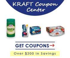Kraft Coupon Center