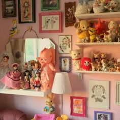 Cute Club HQ renovation completed! Featuring lots of amazing new artwork from @boopsie_daisy and @yukittenme as well as framed copies of Cute Club Zine!  #cuteclub #cuteclubhq #cute #kitsch #kawaii #retro #vintage #Padgram