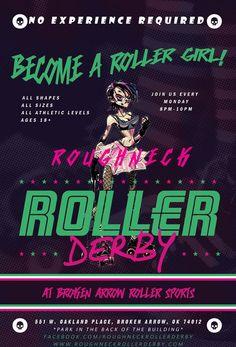 Tulsa's Roughneck Roller Derby