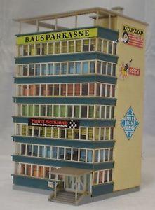 Vintage Plastic HO Building - Motor Sport F1 Racing Circuit Advertising  | eBay