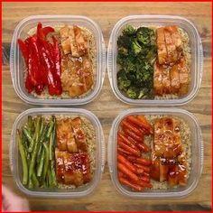 Easy Healthy Meal Prep, Healthy Breakfast Recipes, Easy Healthy Recipes, Lunch Recipes, Easy Meals, Healthy Eating, Clean Eating, Healthy Lunches, Easy Lunch Meal Prep