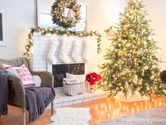 2014 Yellow Bliss Road Christmas Home Tour - Christmas Decorating Ideas - Country Living