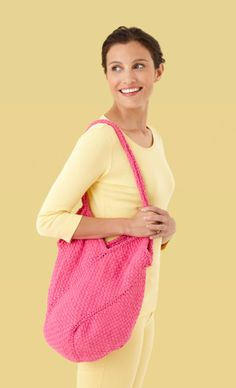 Easy woven or knit purse. Pattern and construction included.