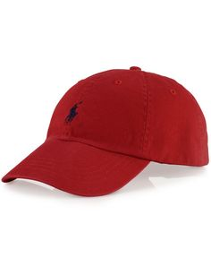 A good sport  this classic baseball cap in durable washed cotton is  distinguished with Polo s 19bc77d029c