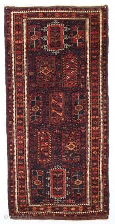 antique baluch rug with an interesting and unusual design in mostly thick high pile with a few knots of light colored silk in the border. Possibly a transitional piece with the drawing . Shag Carpet, Diy Carpet, Beige Carpet, Modern Carpet, Rugs On Carpet, Carpet Ideas, Hallway Carpet Runners, Stair Runners, Asian Rugs