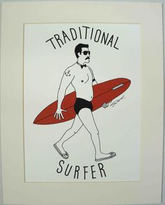 Traditional Surfer by Sho Watanabe | Green Room Hawaii