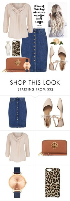 """""""Untitled #147"""" by sarahgriffis ❤️ liked on Polyvore featuring Current/Elliott, Gap, maurices, Tory Burch, Olivia Burton, Kate Spade and Victoria's Secret"""