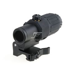 JJ Airsoft 3X Magnifier with Switch to Side STS Quick Detachable / QD Mount & Killflash / Kill Flash (Black)