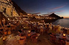 El Farralon restaraunt cut into the hills of Pedregal in Cabo San Lucas.  Best day of my entire life. capellahotels.com