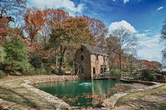 The Old Mill During Fall