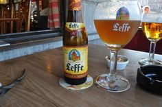 At Cafe Leffe in Dinant, Belgium