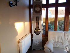 Horloge comtoise ancienne relookée