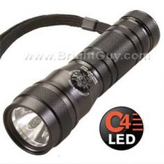The new Streamlight Multi Ops Task-Light has a bright LED centered in the reflector surrounded by 5 UV (ultraviolet) LEDs and a prefocused red laser - all in a flashlight measuring just over long. Tactical Gear, Ultra Violet, Flashlight, Survival, Led, Lighting, Lights, Lightning