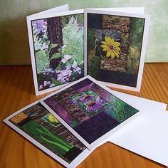 How to start a greeting card business from home pinterest art quilt photograph note cards rocks and nature set of 12 blank cards assortment 12 rudbeckia echinacea and iris on the rocks and mountain laurel and m4hsunfo