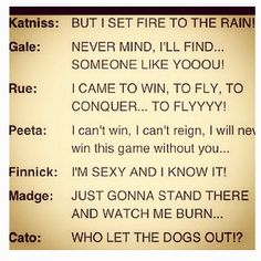 Hunger Games Problems in a song