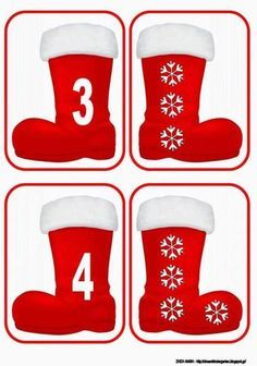 7 Christmas Math, Christmas Activities For Kids, Math For Kids, Noel Christmas, Christmas Stockings, Christmas Crafts, Xmas, Autism Activities, Preschool Learning