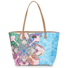 b80db838b9 Mexican Cards Capri Zipper Shoulder Bag - Multicolor - Desigual Shoulder  bags
