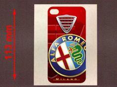 I PHONE 4 ALFA ROMEO - VINYL STICKER 113mm - IA033