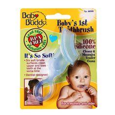 Baby Buddy Baby's 1st Toothbrush - http://essentialsmart.com/product/baby-buddy-babys-1st-toothbrush