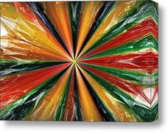 Palette Wheel Stretched Canvas Print / Canvas Art By Janet Russell Stretched Canvas Prints, Framed Prints, Fractals, Canvas Art, My Arts, Palette, Greeting Cards, Tapestry, Gallery