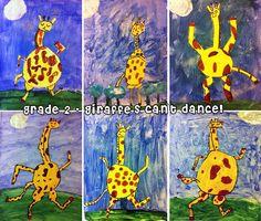 My favorite book!!! Giraffes can't dance - grade 2