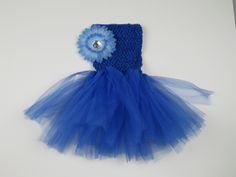 CocoStar - Royal Blue Tutu Dress with Crocheted Bodice and Gerber Flower, $24.00 (http://www.cocostar.ca/royal-blue-tutu-dress-with-crocheted-bodice-and-gerber-flower/)