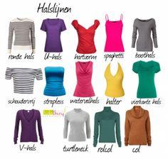 Als je kleding draagt met de verkeerde halslijn heeft dat een grote invloed op je uitstraling. Halslijnen kunnen namelijk je borsten kleiner of juist groter laten lijken en je schouders breder of smaller. Maar ook je gezichtsvorm voor het oog …