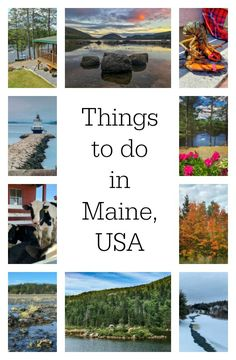 Read on for fabulous things to do in Maine to best experience this outdoor, seaside wonderland in New England, USA. @visitmaine #maine #newenglandtravel