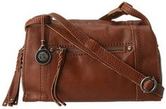 The Sak - Mirada Crossbody (Tobacco Shrunken Leather) - Bags and Luggage on shopstyle.com
