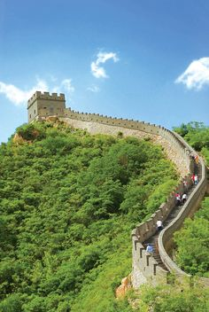 The Great Wall of China. Photo by Anzhela Buch