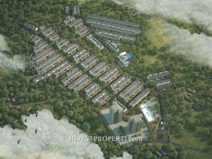 Birdview perumaha Parkville Serpong