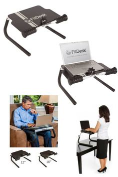 The Tabletop Standing Desk is an adjustable laptop holder that you can use as a laptop tray while you're seated, or as a standing work desk. Get all the health benefits of standing while working on your PC, laptop or tablet. Prevent repetitive strain injury from sitting at a desk. ‪#fitdesk #ergonomic